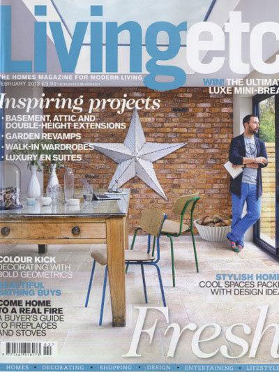 Living etc magazine cover