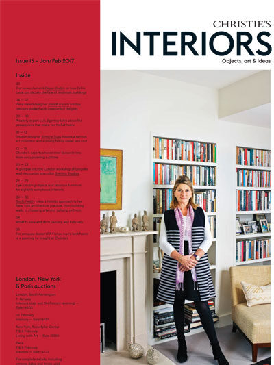Christie's Interiors book cover