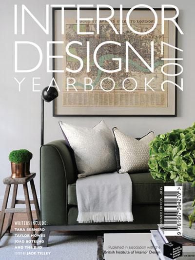 Interior Design Yearbook 2017 cover