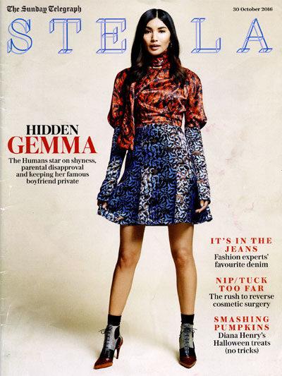 The Sunday Telegraph Stella magazine cover