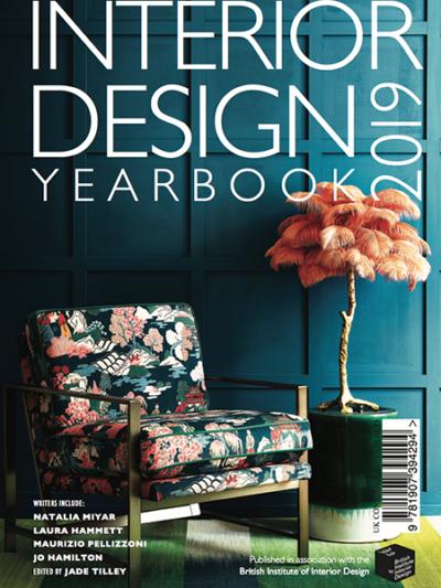 Interior Design Yearbook 2019 cover