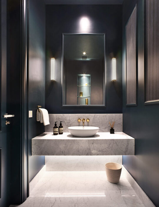 Beautiful wash room - Luxury sustainable interior design