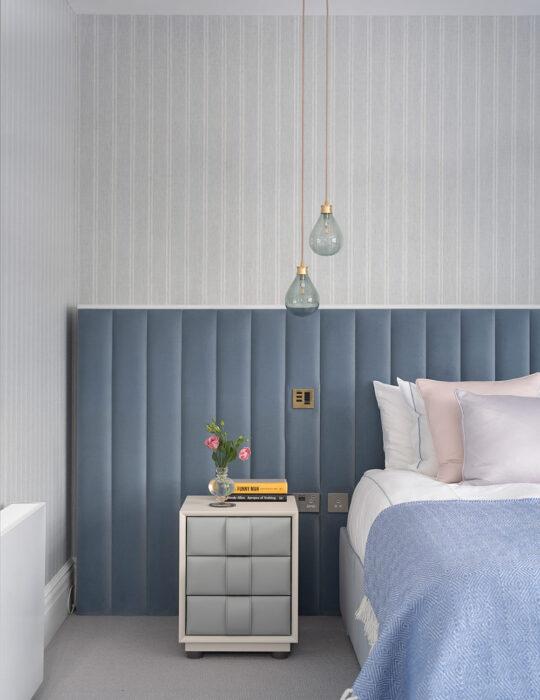 Bedroom detail - Luxury sustainable interior design