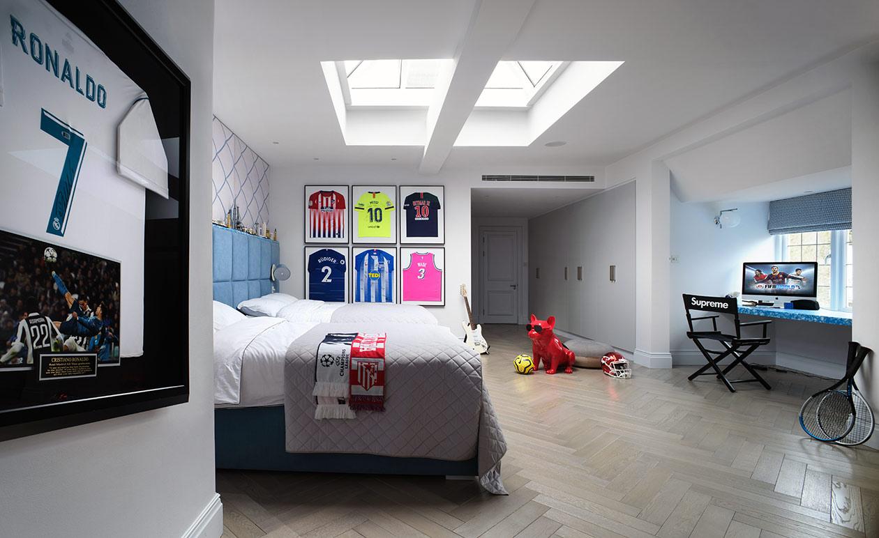 Boy's luxury bedroom - Luxury sustainable interior design