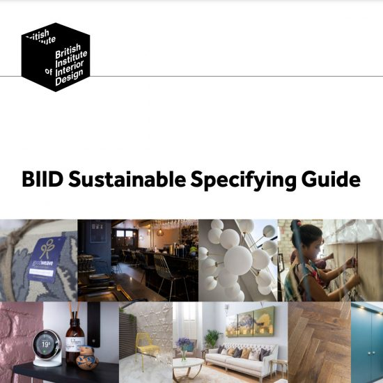 BIDD Sustainable Specifying Design Guide